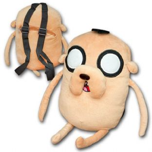 Adventure Time Jake the Dog Plush Backpack